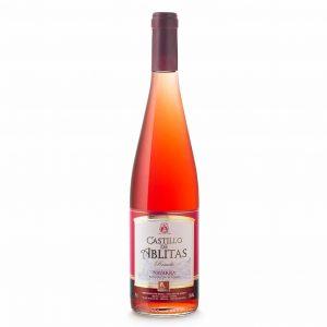 Botella de rosado garnacha Castillo de Ablitas de la Bodega Cooperativa Nuestra Señora del Rosario